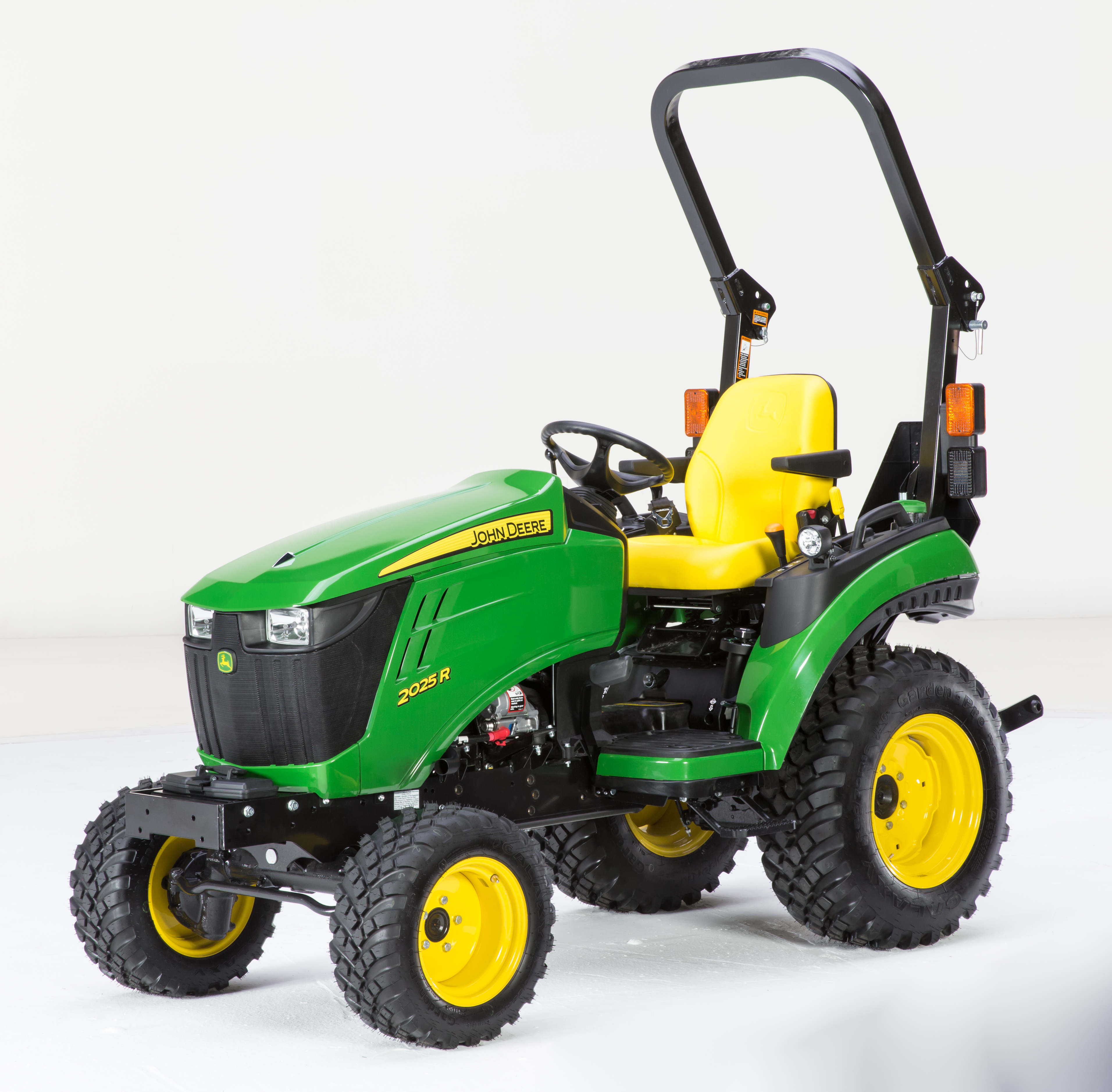 Recalled John Deere 2025R Compact Utility Tractor