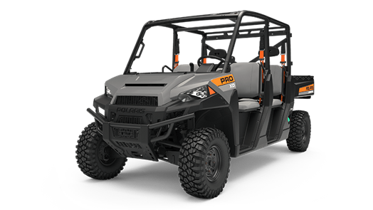 Recalled 2019 Polaris PRO XD 4000D four-seat configuration