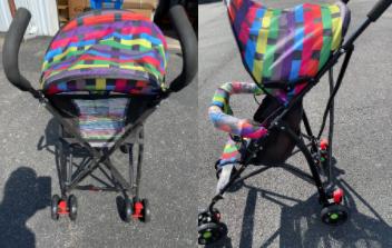 Recalled Island Wear strollers (multi-colored)