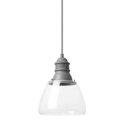 Small Stratton Pendant Clear Glass