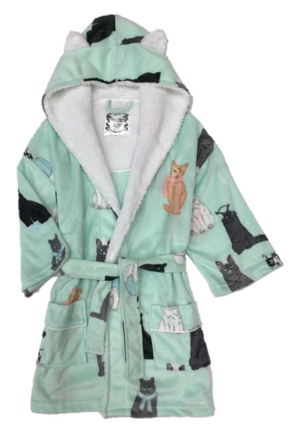 Recalled Aegean Apparel children's robe