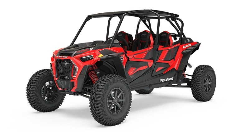 Recalled 2019 Polaris RZR XP 4 Turbo S – red