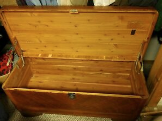 Inside of Cavalier Chest