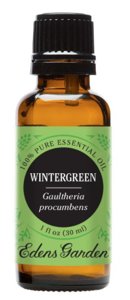 Recalled 100% Pure Wintergreen Essential Oil– 30 mL bottle