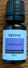 Recalled REVIVE Ache Away Essential Oil Blend10 mL