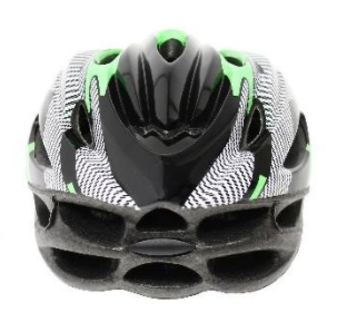 Recalled Any Volume bike helmet – back view