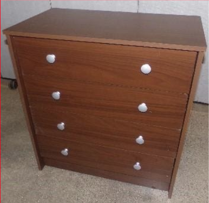 Recalled Essential Home Belmont 2.0 4-drawer Chest - Walnut