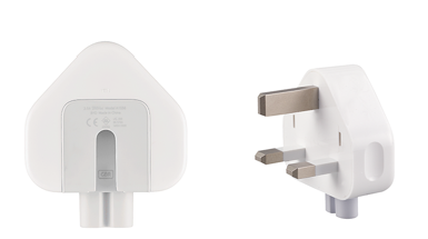 Three-Prong AC Wall Plug Adapter Replacement