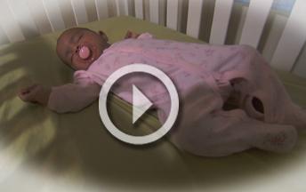 Aprenda cómo acostar a dormir a su bebé con seguridad