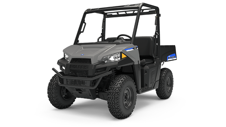 2019 Polaris Ranger EV in Avalanche Gray
