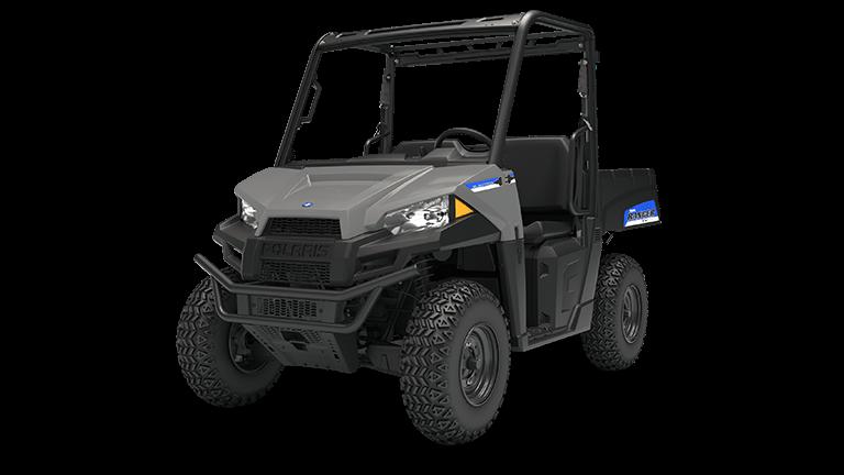 2019 Polaris Ranger EV in Avalanche Gray