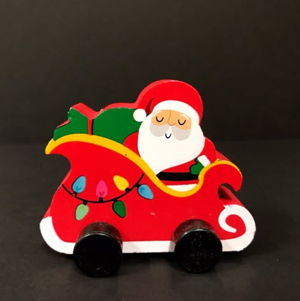 Bullseye's Playground Toy Vehicles – Santa in Sleigh
