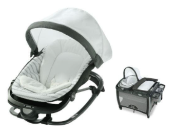 Recalled Graco Pack 'n Play Rock 'n Grow Playard