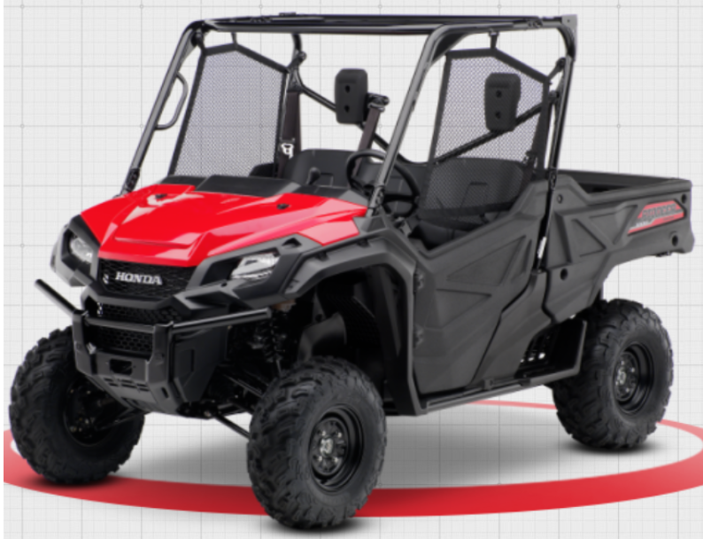2016-2020 Model Year Honda Pioneer 1000 3 Passenger