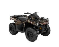 Recalled MY21 Can-Am Outlander DPS 570 Camo also sold in Tundra Green