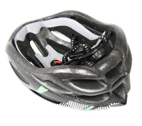 Recalled Any Volume bike helmet – inside view