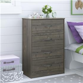 Ameriwood Mainstays chest of drawers in weathered oak- 5412213PCOM