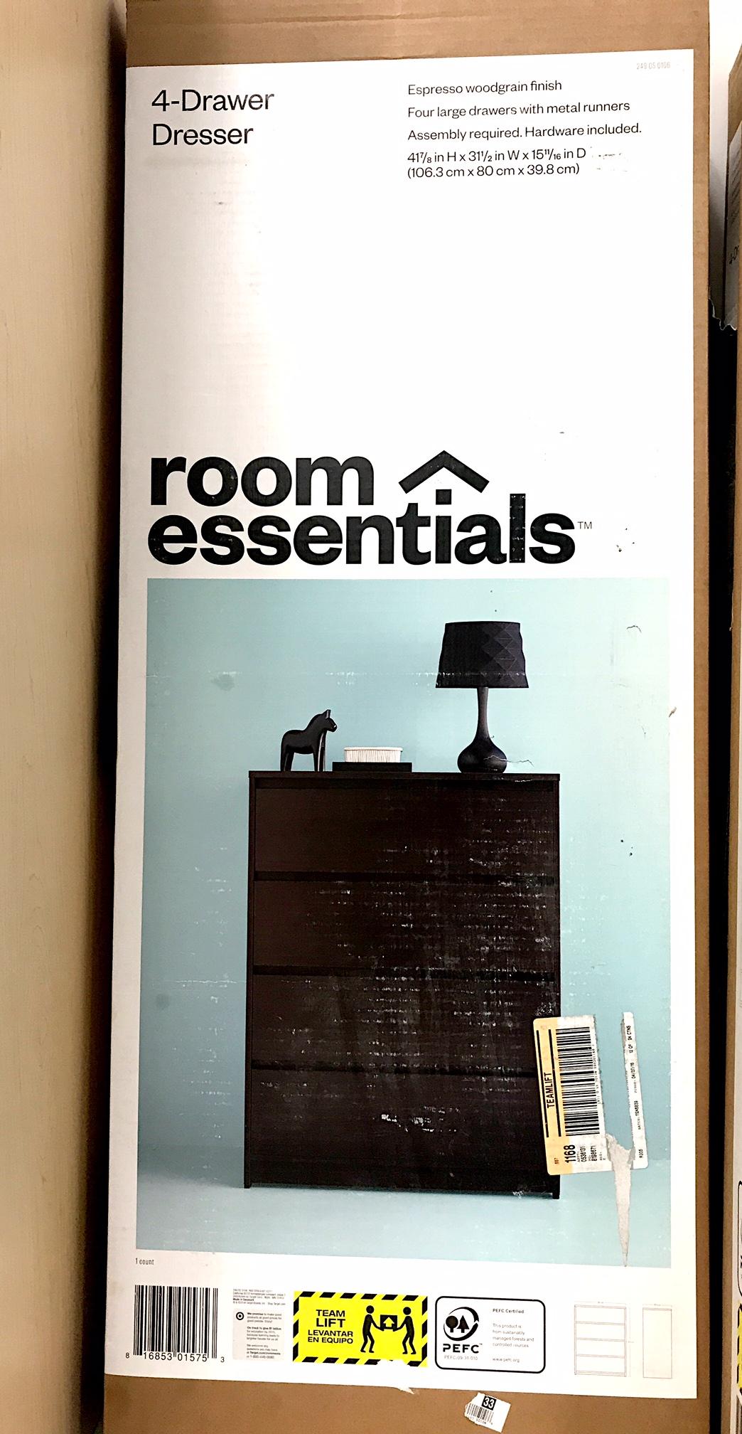 Target Recalls Room Essentials 4 Drawer Dressers Due To Tip