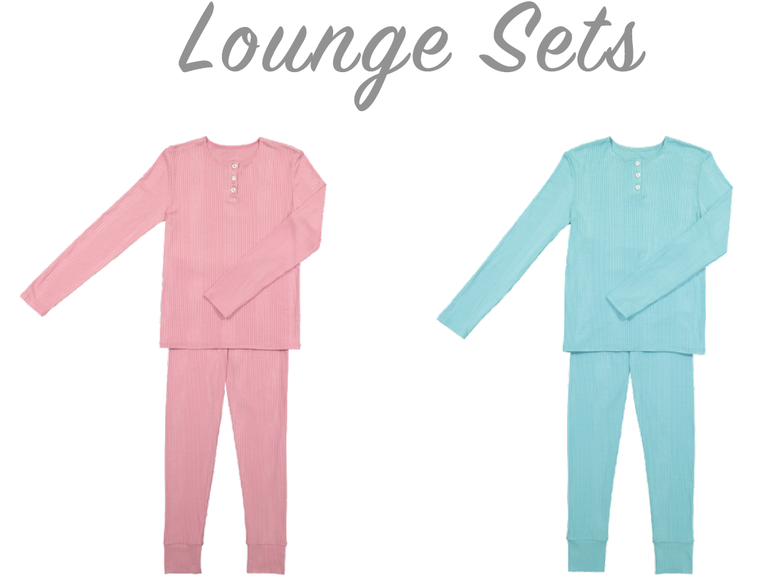 Recalled Blue and Pink Go Couture Children's Loungewear