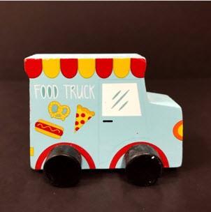 Bullseye's Playground Toy Vehicles – Ice Cream Truck/Food Truck