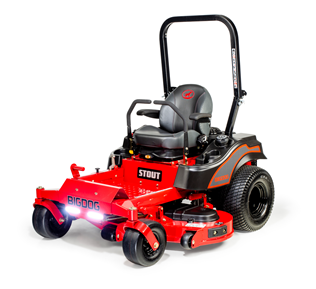 Recalled BigDog Stout series zero-turn mower