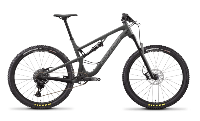 Recalled Santa Cruz Bicycle:  5010 3a Aluminum - Dark Gray