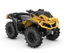 Recalled MY21 Can-Am Outlander Xmr 850 Yellow also sold in Granite Gray-Black-Manta Green