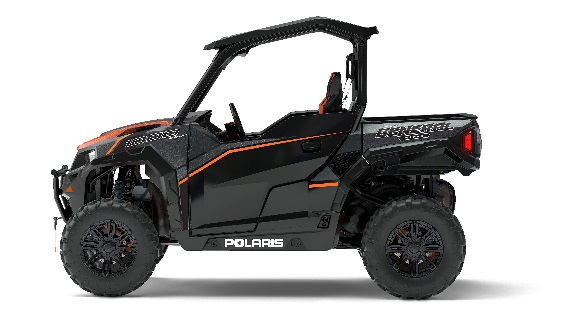 2017 Polaris General two-seat in black