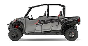 2017 Polaris General four-seat in silver