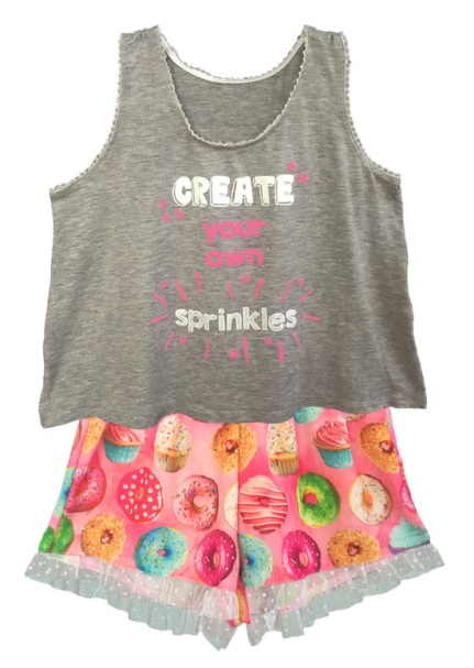 image of Children's nightgowns and pajama sets