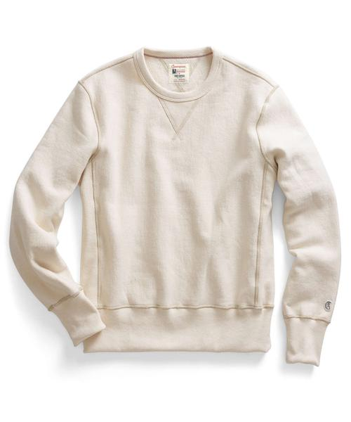 Recalled men's Todd Snyder + Champion sweatshirt in White