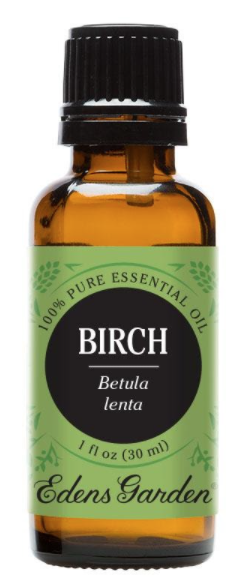 Recalled 100% Pure Birch Essential Oil – 30 mL bottle