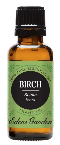 Recalled 100% Pure Birch Essential Oil – 30 mL bottle