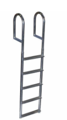 Recalled 5-Step Wide Step Dock Ladder