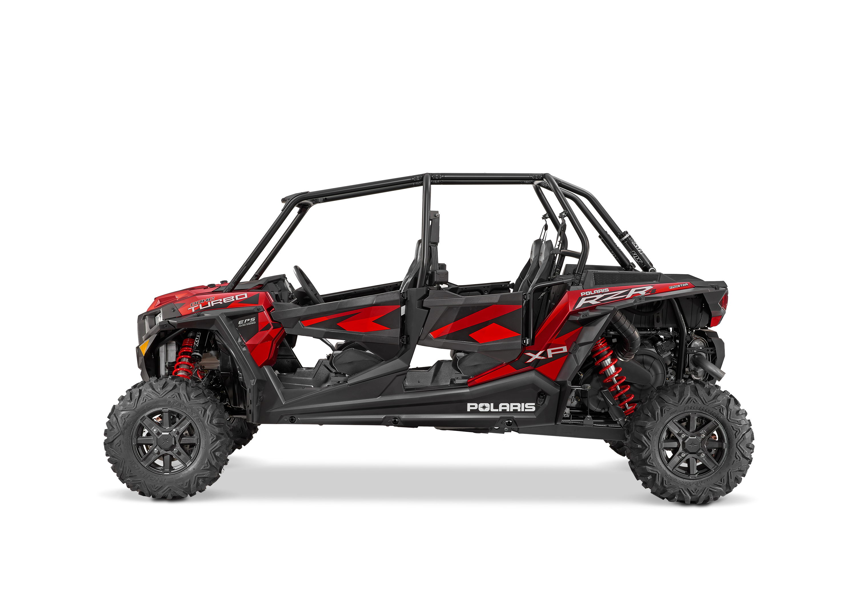 2016 RZR XP 4 TURBO EPS MATTE SUNSET RED