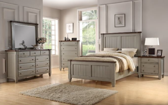 Recalled Avalon Cottage Town Collection in Gray