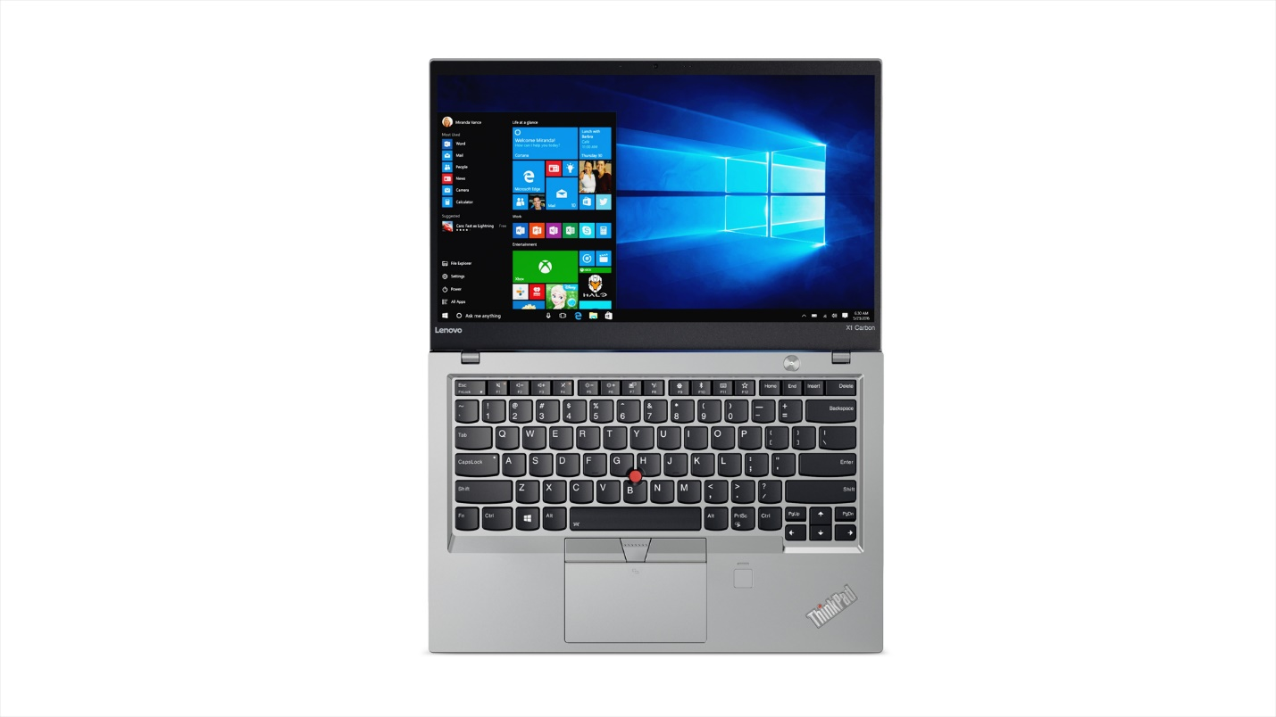 Photo of Lenovo ThinkPad X1 Carbon (5th Gen.) Silver Version