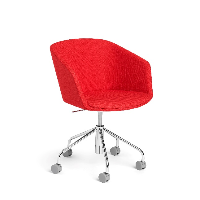 Pitch Rolling Chair, Red (103772)