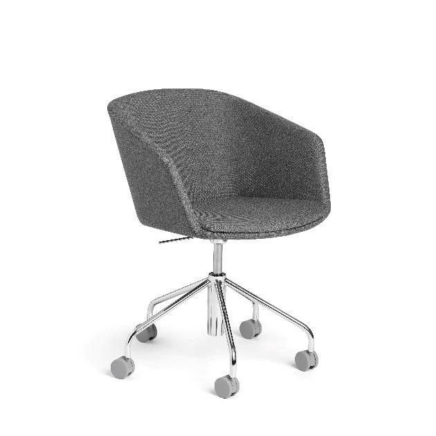 Pitch Rolling Chair, Dark Gray (103769)
