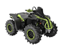 Recalled MY21 Can-Am Renegade XMR 1000R Iron Gray-Black also sold in Yellow-Black