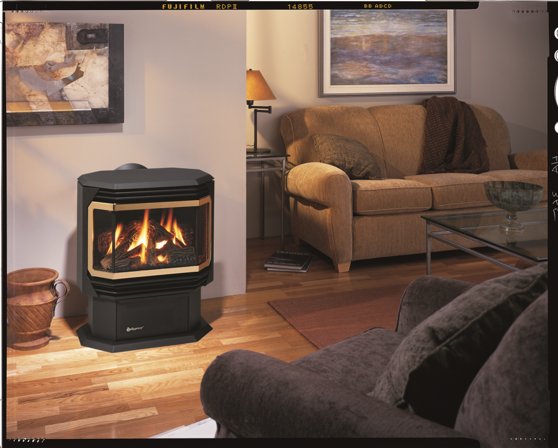 image of Regency Ultimate direct vent gas stove fireplaces (models U37 and U39)