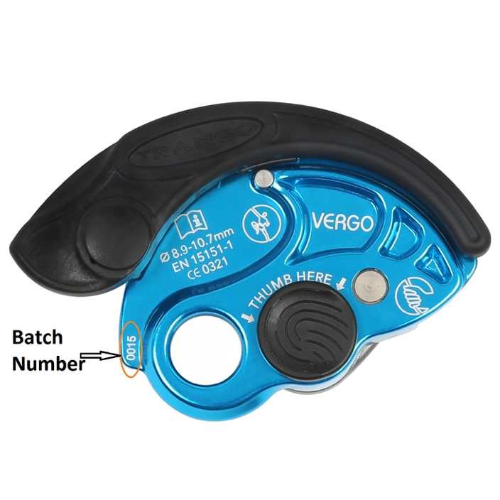 Trango Vergo Belay Device