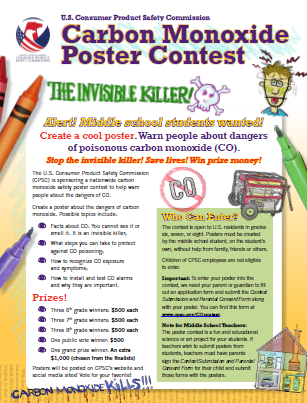 Safety Education - Poster Contest Listing | CPSC.gov