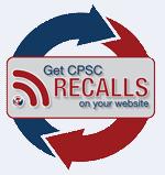 CPSC Recall Widget