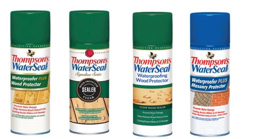 Protectores de madera y de mampostería en latas de aerosol de Thompson's WaterSeal retirados del mercado