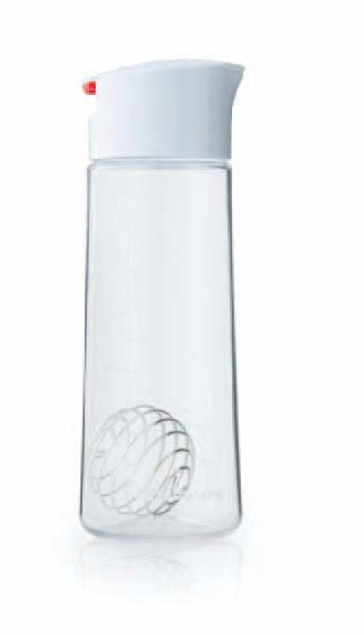 Whiskware™ glass dressing shaker bottle