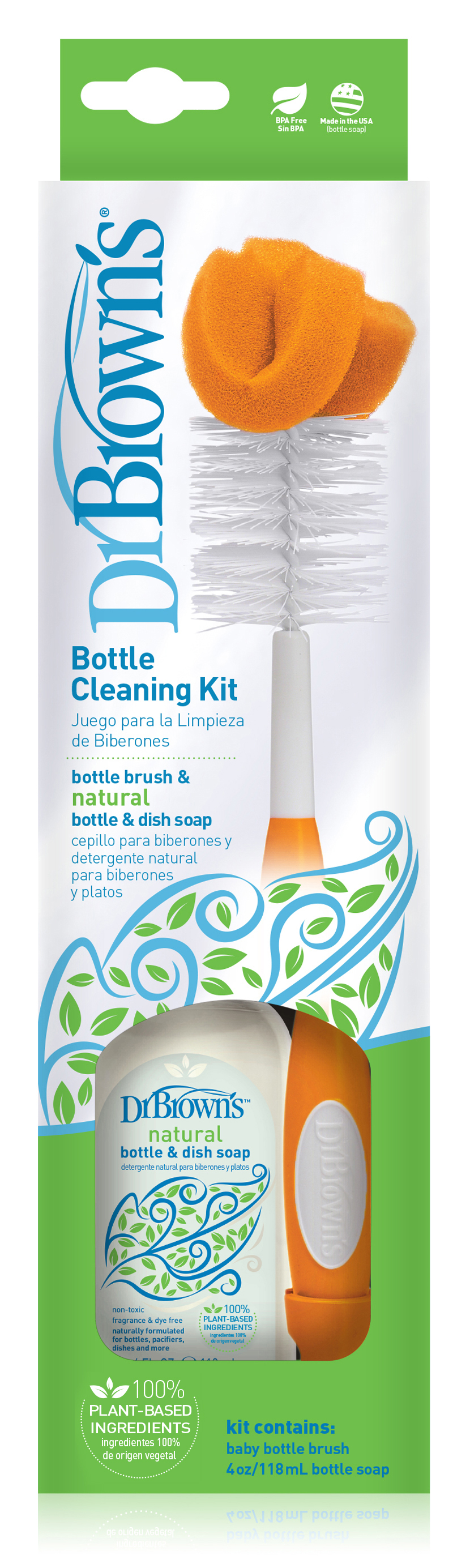 Handi-Craft Dr. Brown's bottle cleaning kit