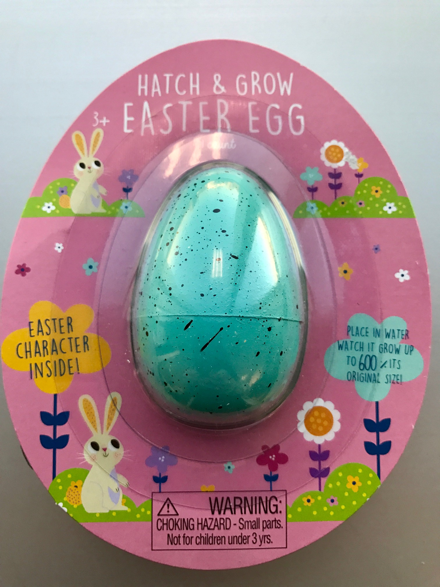 Hatch & Grow—Blue Easter Egg