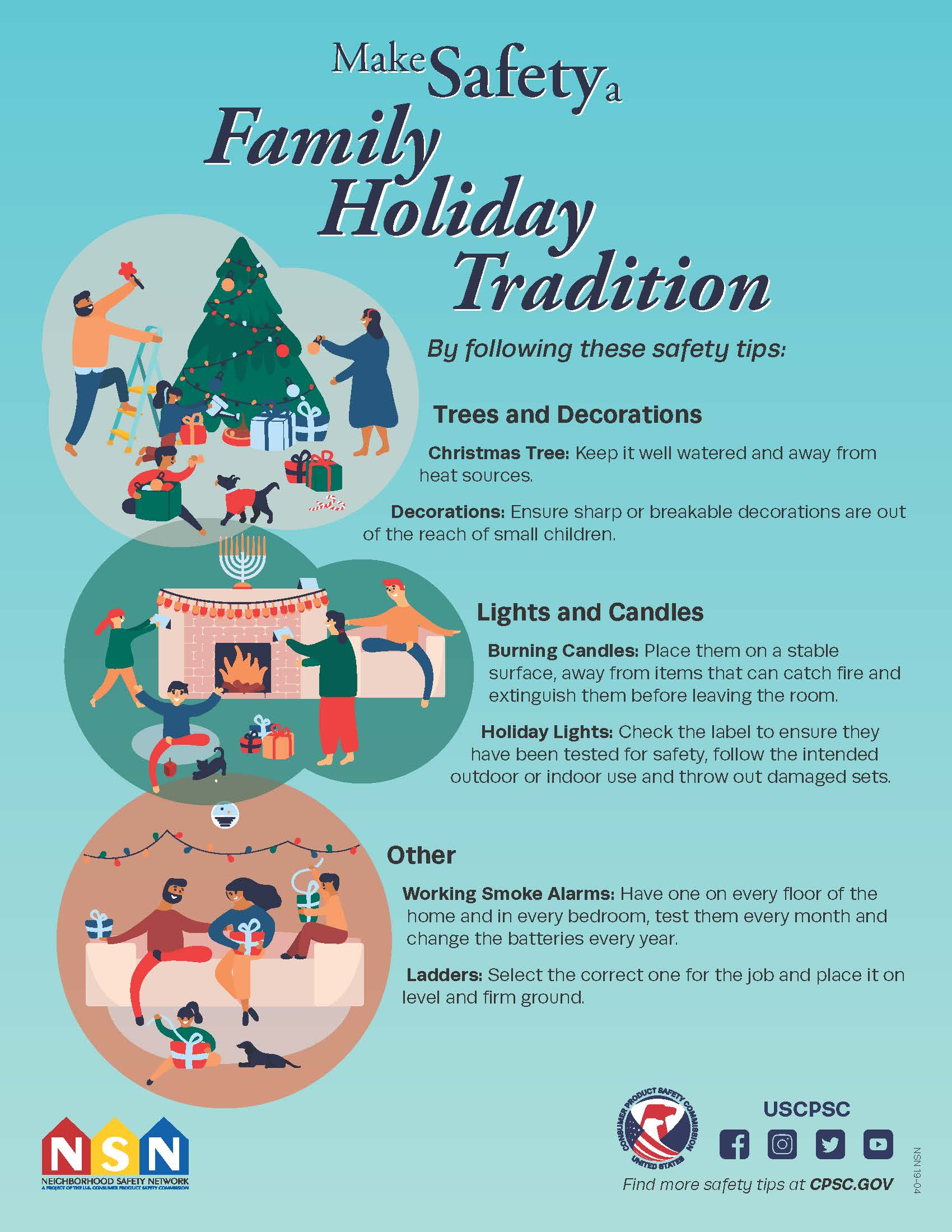 make safety a family holiday tradition cpsc gov