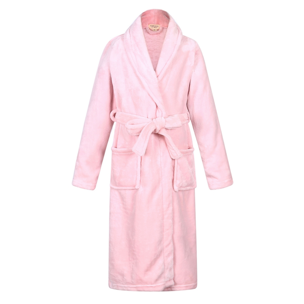 Recalled Richie House children's robe in solid pink